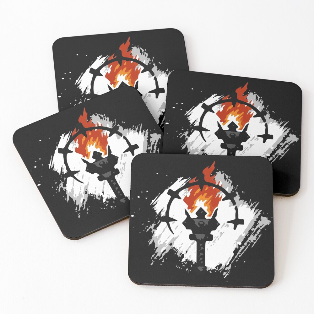 Darkest Dungeon Player Coasters (Set of 4)