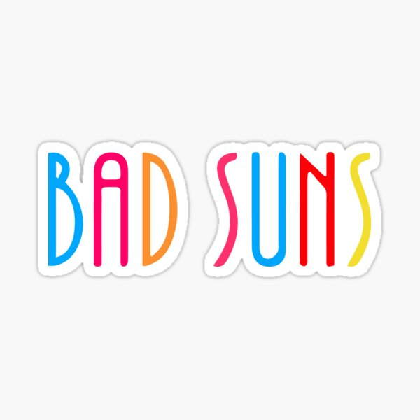 Bad Suns (Color) Sticker