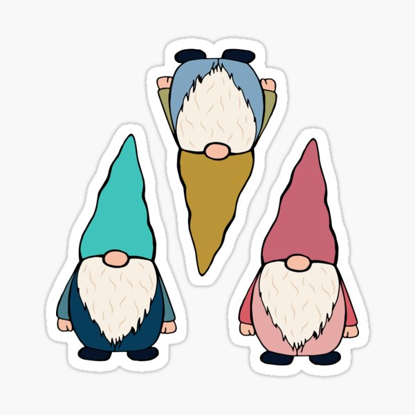 Gnome sticker pack and pattern 1 Sticker