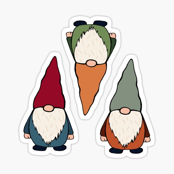 Gnome sticker pack and pattern 2 Sticker