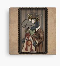 Steampunk Gonzo Canvas Print