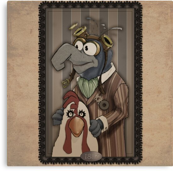 Steampunk Gonzo by doodlebags
