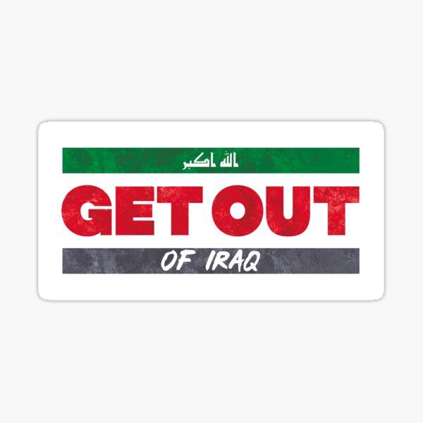 Get Out of Iraq Sticker