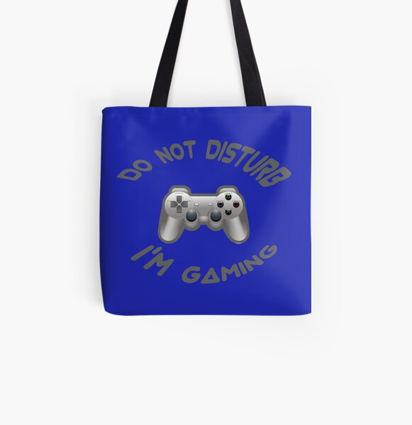 Don't Disturb I'm Gaming All Over Print Tote Bag