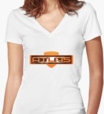 Borderlands Atlas Women's Fitted V-Neck T-Shirt