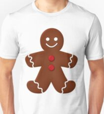 Gingerbread Man  Unisex T-Shirt