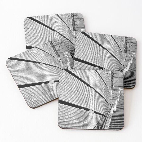 4 Set-géométrique Art Déco rétro Sous-Verres-Cuisine boissons Coaster Cadeau #3959