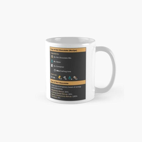 Cup of Hot Chocolate (Recipe) Classic Mug