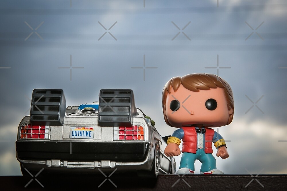 Outatime with Marty McFly by garykaz