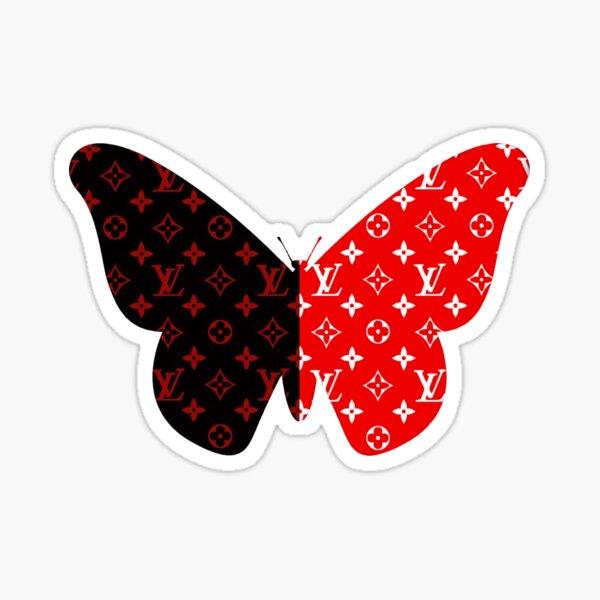 Louis Butterfly Sticker