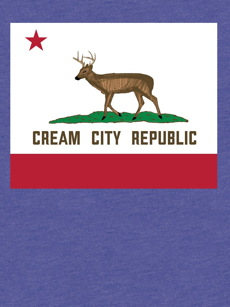 Cream City Republic Flag by AJW3-Art