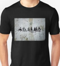 Western Cowboys Indians Horses Unisex T-Shirt