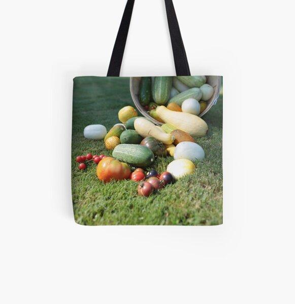 Garden Bounty All Over Print Tote Bag