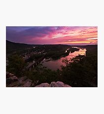 Harpers Ferry Sunset 3 - Harpers Ferry, WV Photographic Print