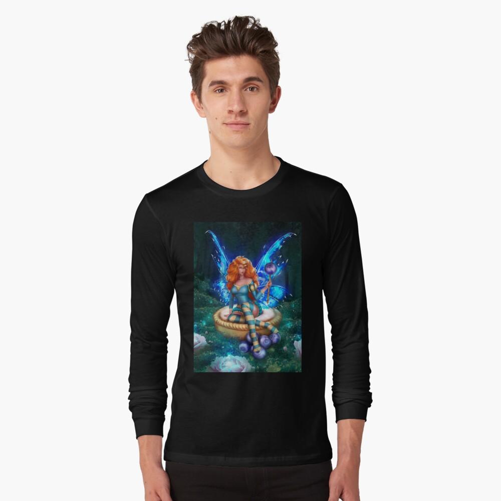 Blueberry Cake Fairy Long Sleeve T-Shirt
