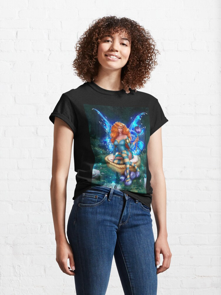 Alternate view of Blueberry Cake Fairy Classic T-Shirt