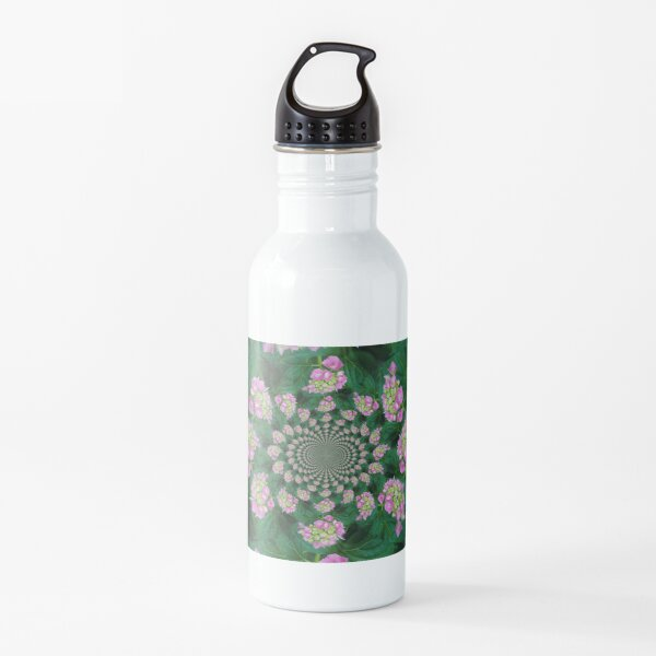 Pink flowers forever Water Bottle