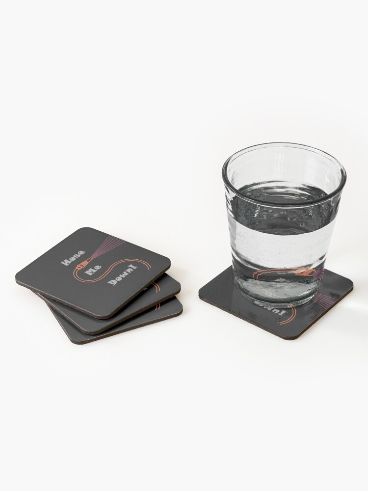 Alternate view of Hose Me Down Coasters (Set of 4)
