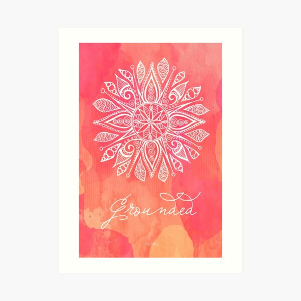 Root Chakra - Grounded Art Print