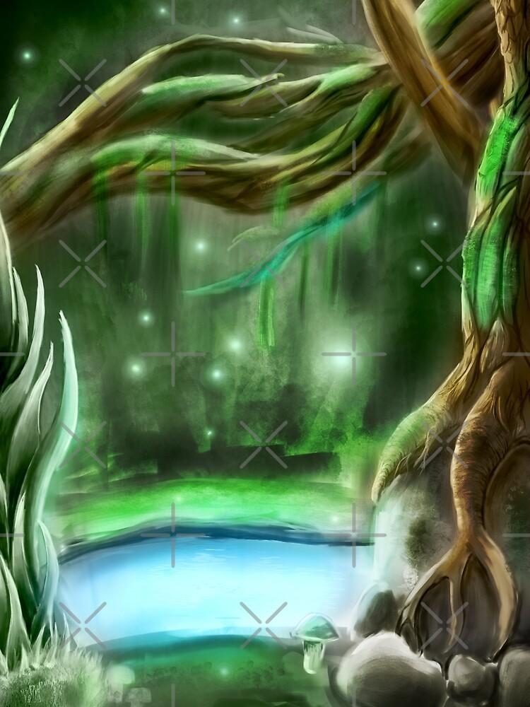 enchanted forest by ryukrabit