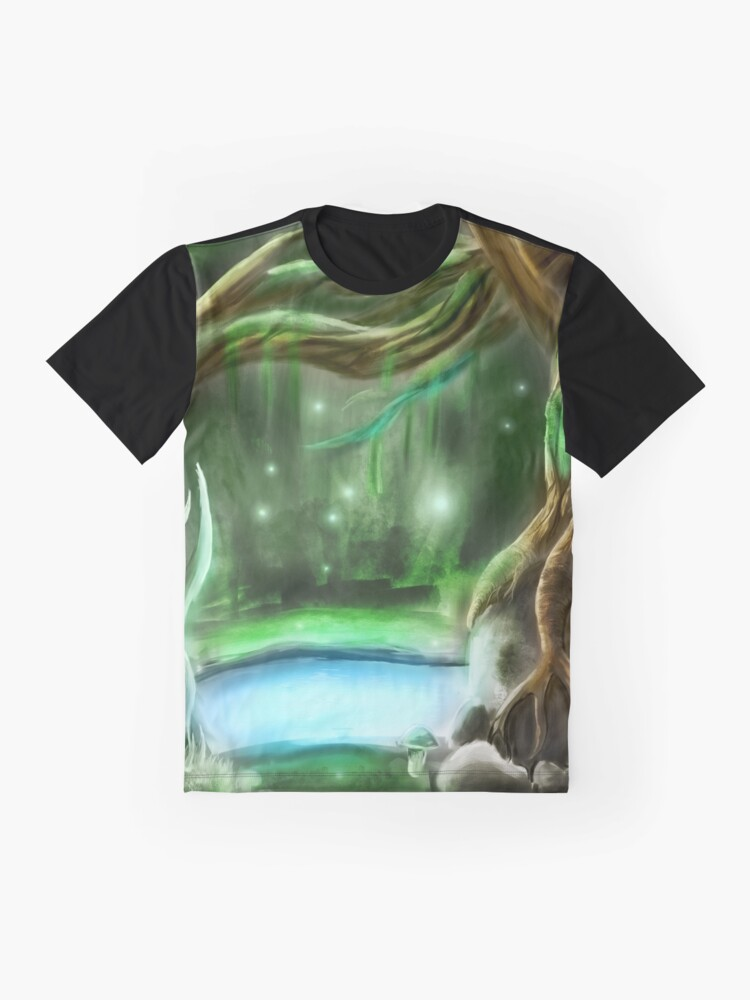 Alternate view of enchanted forest Graphic T-Shirt
