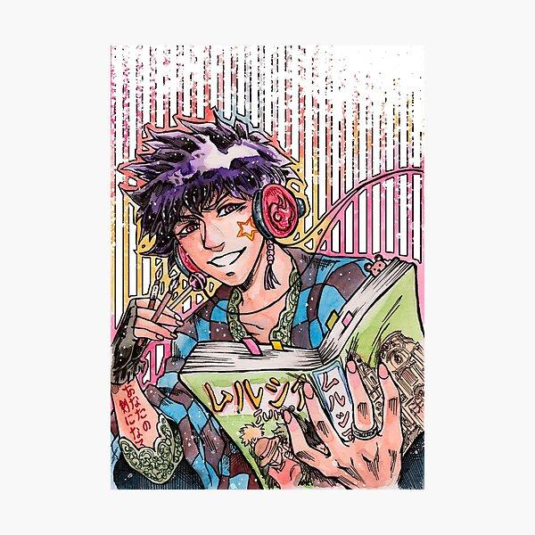 Living through manga Photographic Print