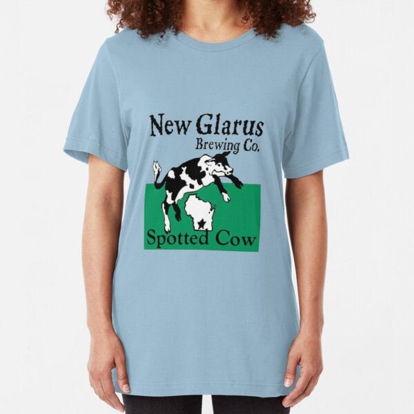 Spotted Cow - New Glarus Brewery Slim Fit T-Shirt