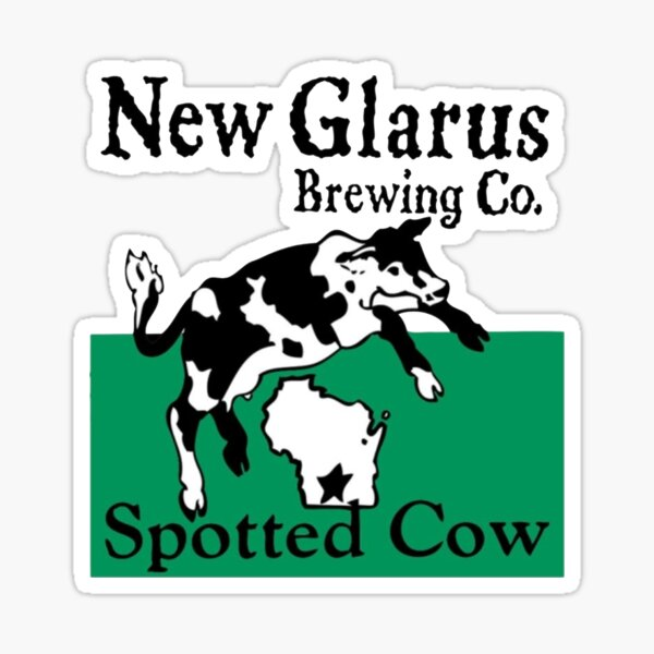 Spotted Cow - New Glarus Brewery Sticker