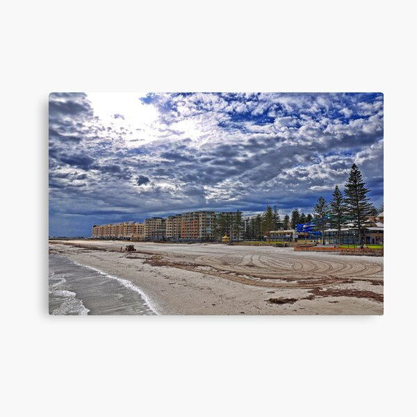 Glenelg Beach Canvas Print
