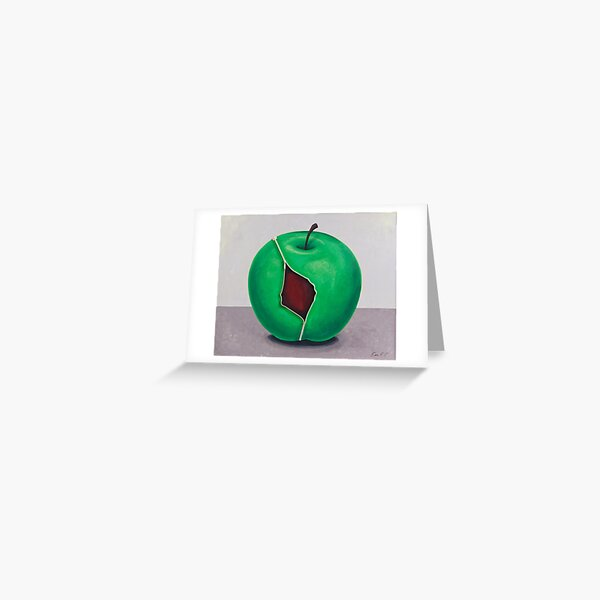 """""""The APPLE""""  Greeting Card"""