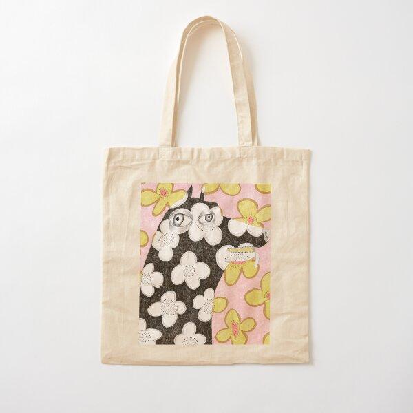 Wallpaper dog Cotton Tote Bag