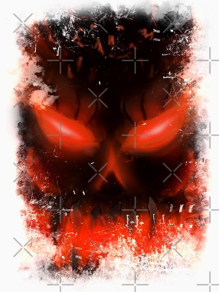demon skull by ryukrabit