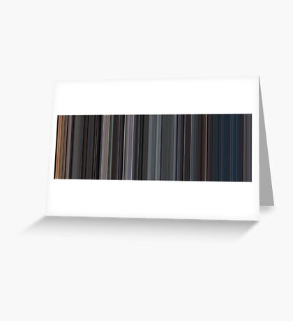 Moviebarcode: The Exorcist (1973) [Simplified Colors] Greeting Card