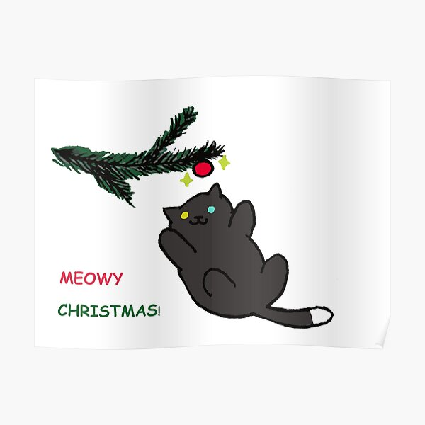 Meowy Christmas! -- Pepper Neko Atsume Poster