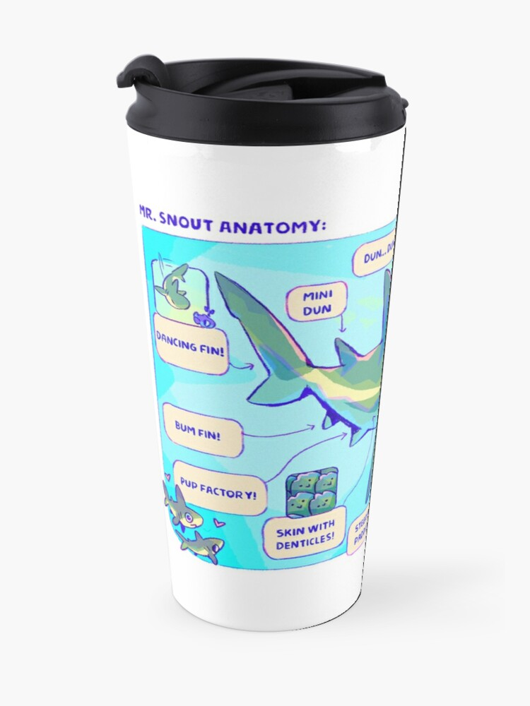 Alternate view of Mr. Snout Anatomy Travel Mug