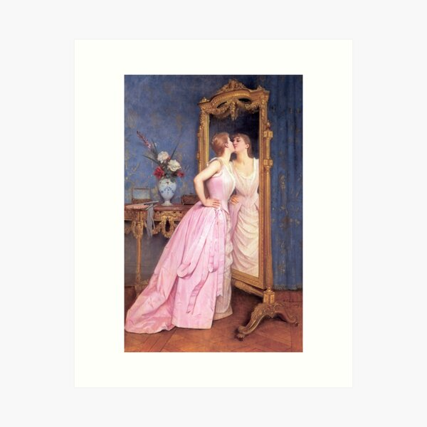 "Toulmouche's ""Vanity"" Art Print"
