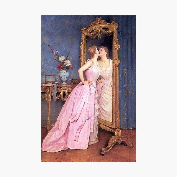 """Toulmouche's """"Vanity"""" Photographic Print"""