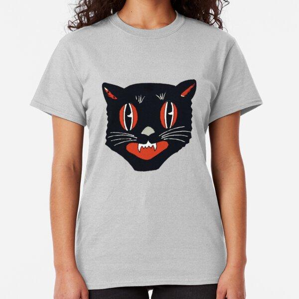Vintage Black Cat Classic T-Shirt