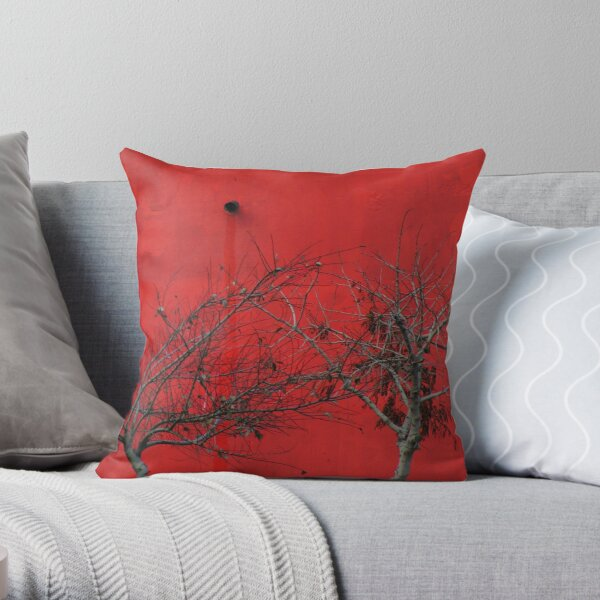 Trees are Hot Throw Pillow