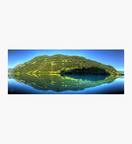 Lungerersee 24 shot HDR Panorama Photographic Print