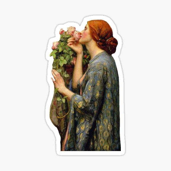 """Waterhouse's """"Soul of a Rose"""" Sticker"""