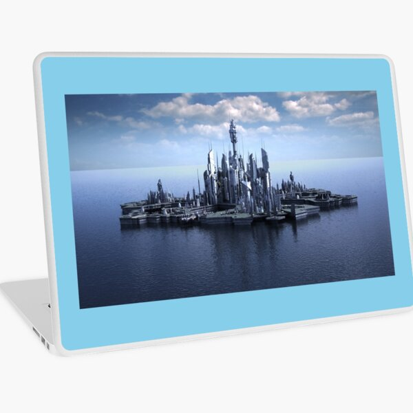 Atlantis, The City of the Ancients Laptop Skin