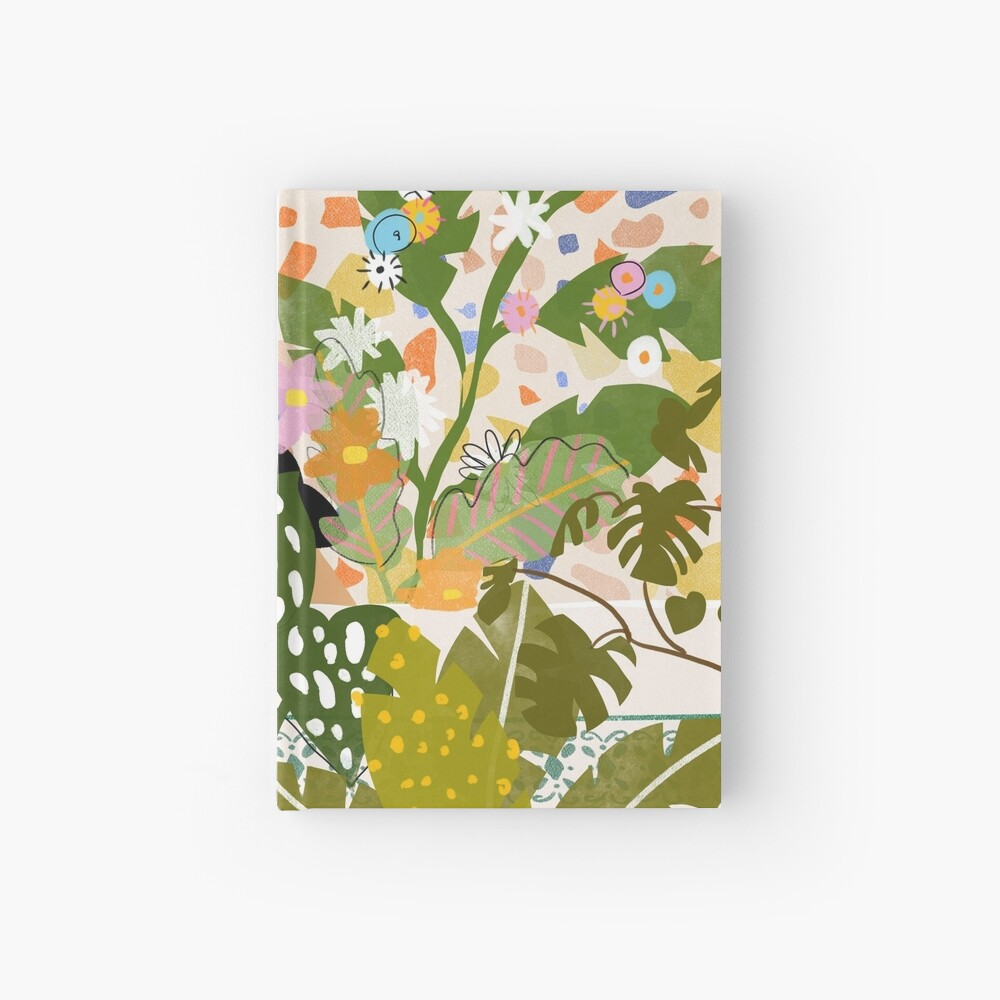 Bathing with Plants Hardcover Journal