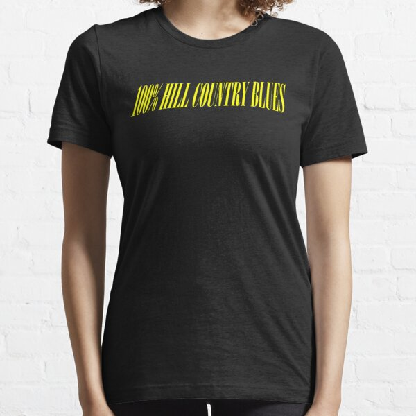 100% HILL COUNTRY BLUES Essential T-Shirt