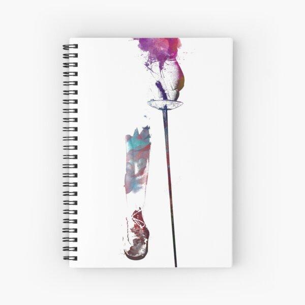 arte deportivo de esgrima #fencing Cuaderno de espiral