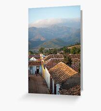 Las montañas de Trinidad Greeting Card