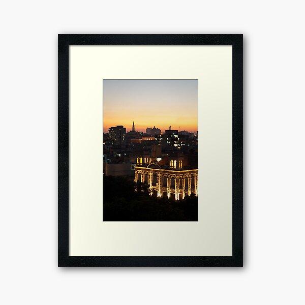 Lights over Havana Framed Art Print