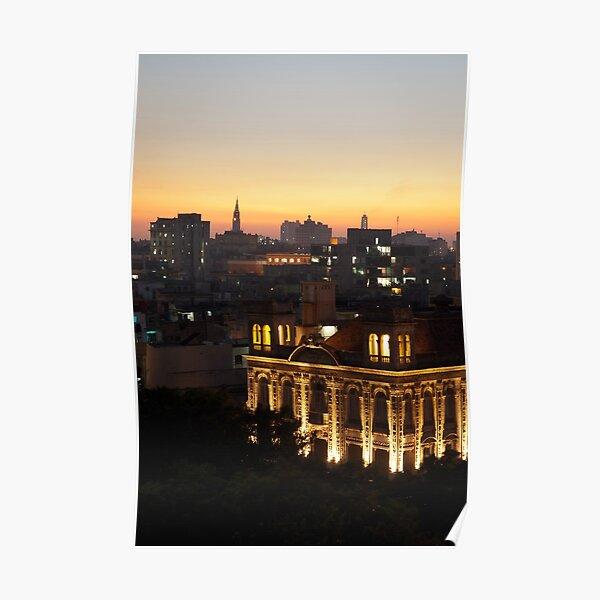 Lights over Havana Poster
