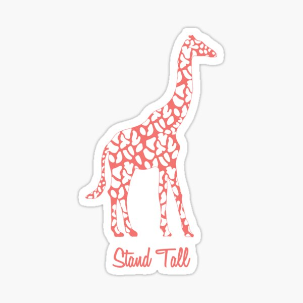Stand Tall Sticker