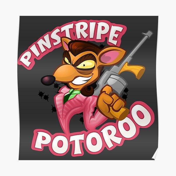 Pinstripe potoroo Poster